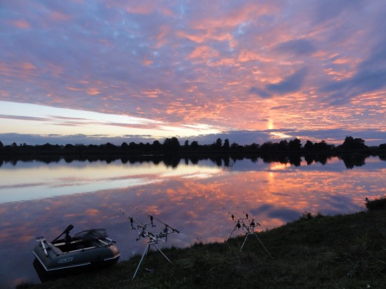 Zachód słońca… taki widok pamięta się długo